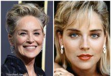 Dos momentos en la vida de Sharon Stone, que en la actualidad sigue tan bella como siempre. FACEBOOK