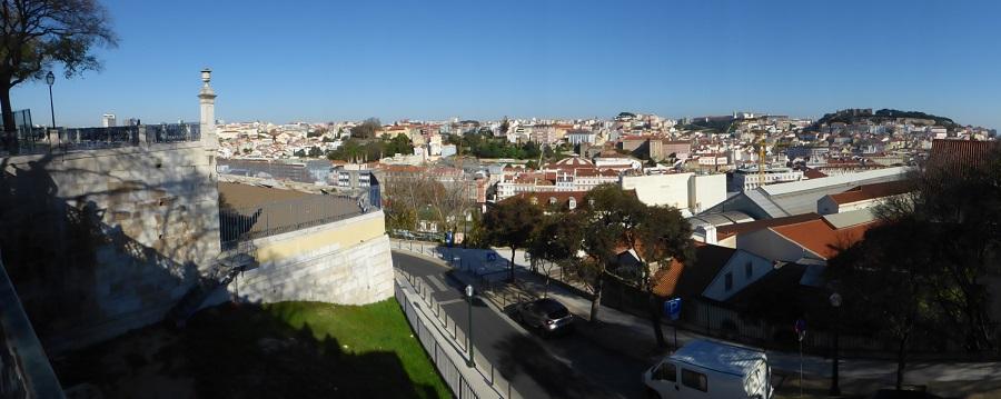 La bella Lisboa, desde uno de sus miradores. J.M. PAGADOR