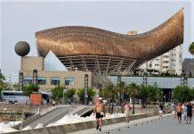 La detención se ha producido en Barcelona. En la imagen, detalle de la Villa Olímpica. J.M. PAGADOR