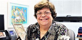 Ana Lúcia Gazzola, Rectora de la Universidad de Minas Gerais y anfitriona del acto desde Brasil. EL TIEMPO