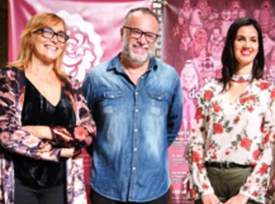 Toni Álvarez, Marce Solís y Mirian G. Cabezas, responsables de la Muestra Ibérica de las Artes Escénicas.