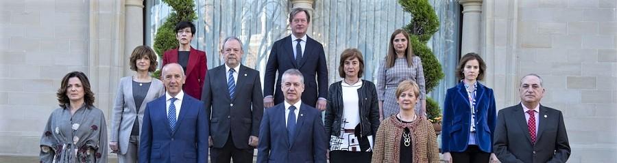 Un gobierno vasco de coalición como el actual será seguramente reeditado. GOBIERNO VASCO