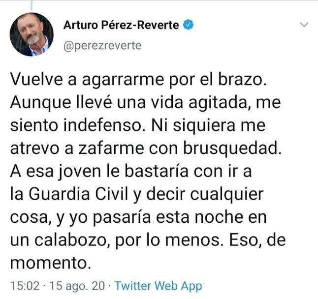 El tuit alucinante de don Arturo.