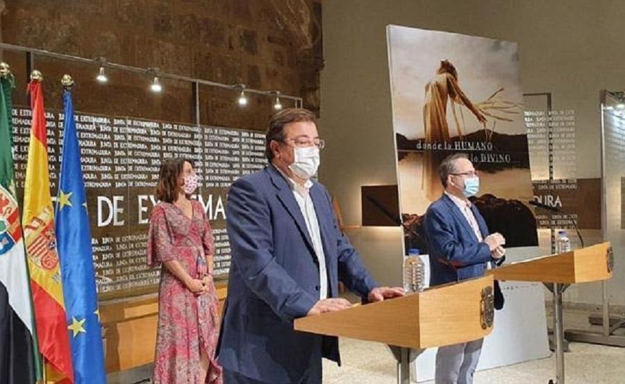 Fernández Vara y Cimarro hicieron un balance triunfalista, como siempre. JUNTAEX