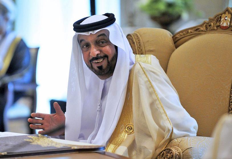Jalifa bin Zayed al-Nahyan, emir de Abu Dabi y anfitirón de Juan Carlos.