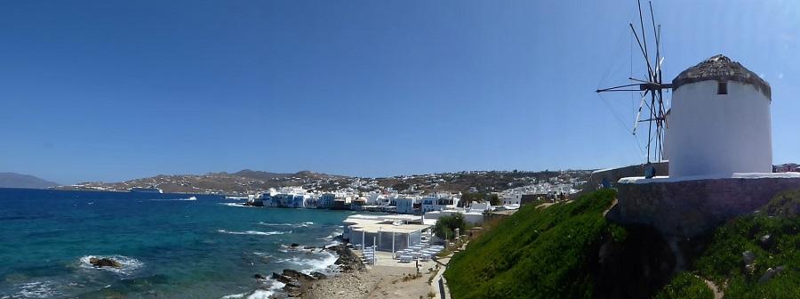 La claridad de Grecia, de la que tanto tenemos que aprender, expresada en la isla de Mykonos. J.M. PAGADOR