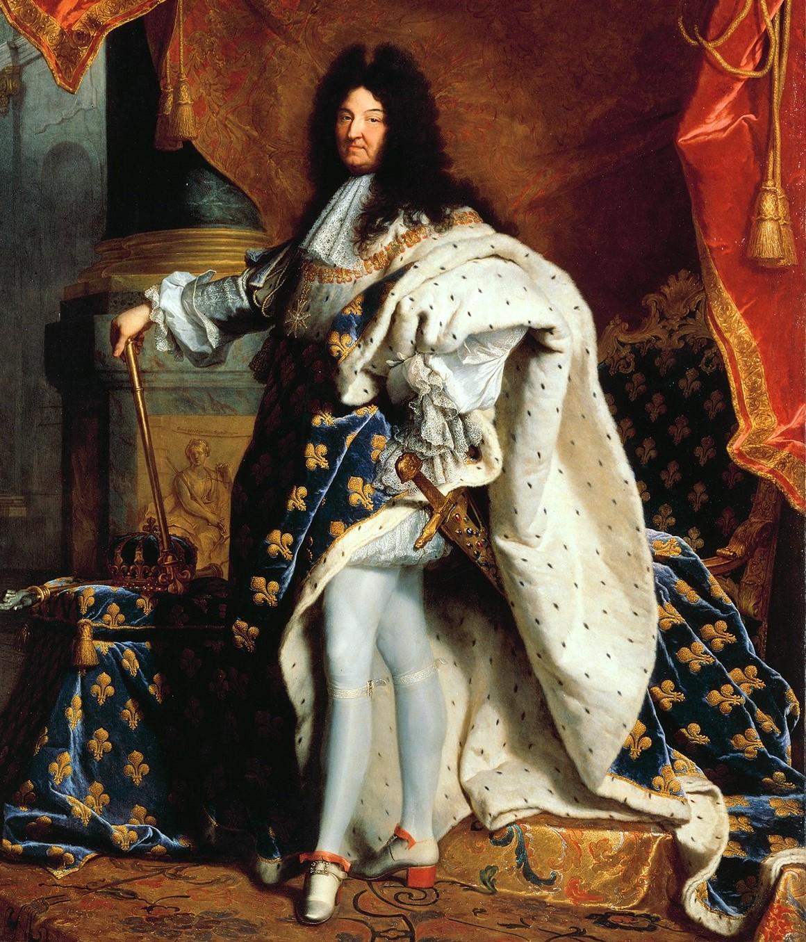 Luis XIV, en plan sencillito.