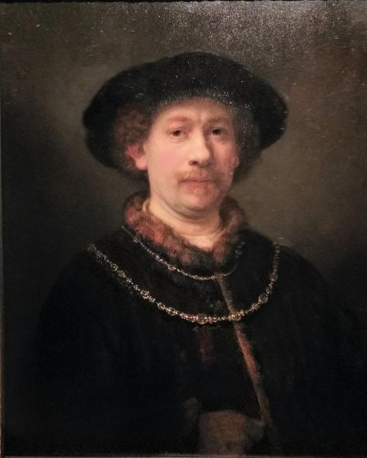 Uno de los soberbios autorretratos del artista. J.M. PAGADOR