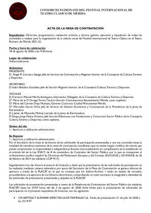 DOCUMENTO 1. Acta de la mesa de Contratación que admite a la UTE (1)