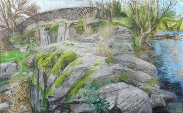 El Charco de los Perros. óleo sobre lienzo 150x200 cms.