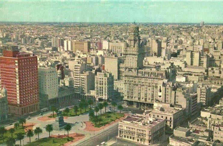 El Montevideo que vio el autor al llegar en 1958.