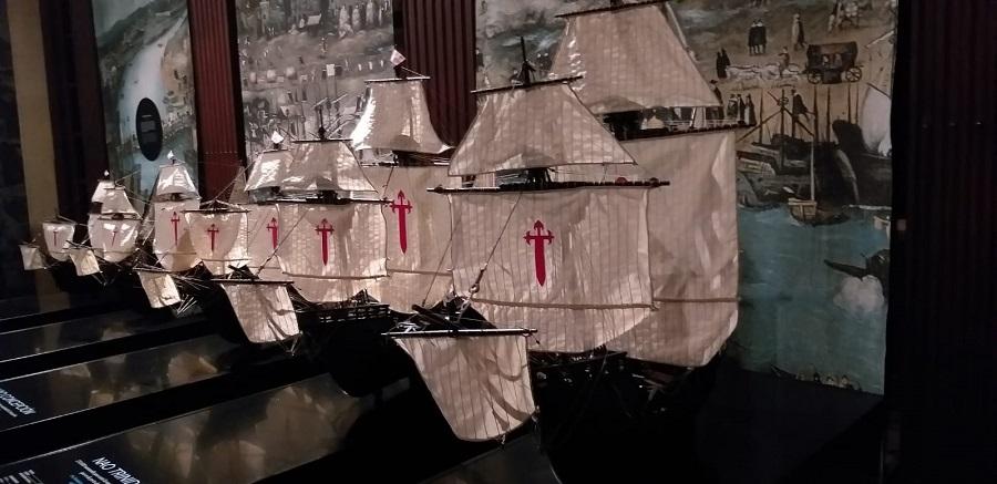 Réplicas a escala de la escuadra de Magallanes-Elcano. J.M. PAGADOR