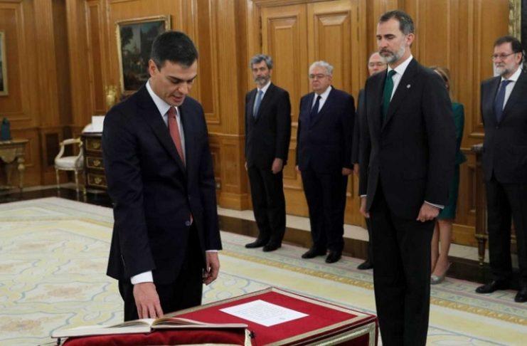 Todos prometieron lealtad al Rey y guardar la Constitución, pero la deslealtad es manifiesta. RTVE