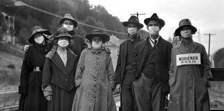 """Una instantánea tomada en plena pandemia de la """"gripe española"""" de 1918."""