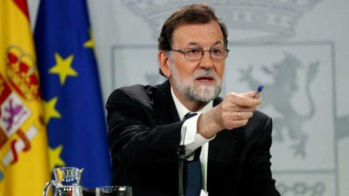 El dedo de Pedro Jota señala directamente a Rajoy. RTVE