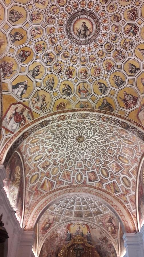 Techo de un convento de Clarisas en Extremadura. ALEJO HERNÁNDEZ LAVADO