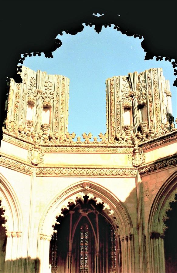 Capillas inacabadas del Monasterio de Batalha (Portugal). A. HERNÁNDEZ LAVADO