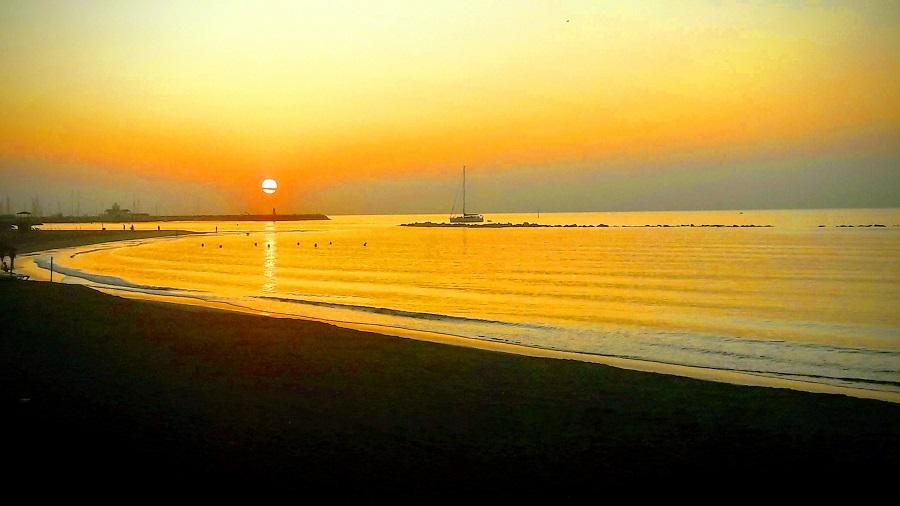 El patrimonio natural es fundamental también. Benalmádena playa. A. HERNÁNDEZ LAVADO