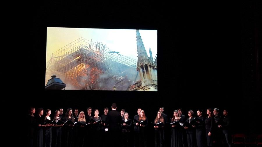 Grande Soirée du Patrimoine Europén 2019. Théâtre du Châtelet (Paris). A. HERNÁNDEZ LAVADO