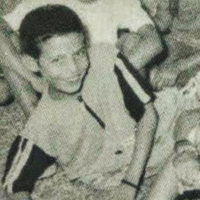 Hadrami en el Coronil (Sevilla), en un programa de vacaciones en España para niños saharauis (verano de 1997)
