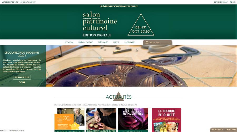Página Web. https://www.patrimoineculturel.com/