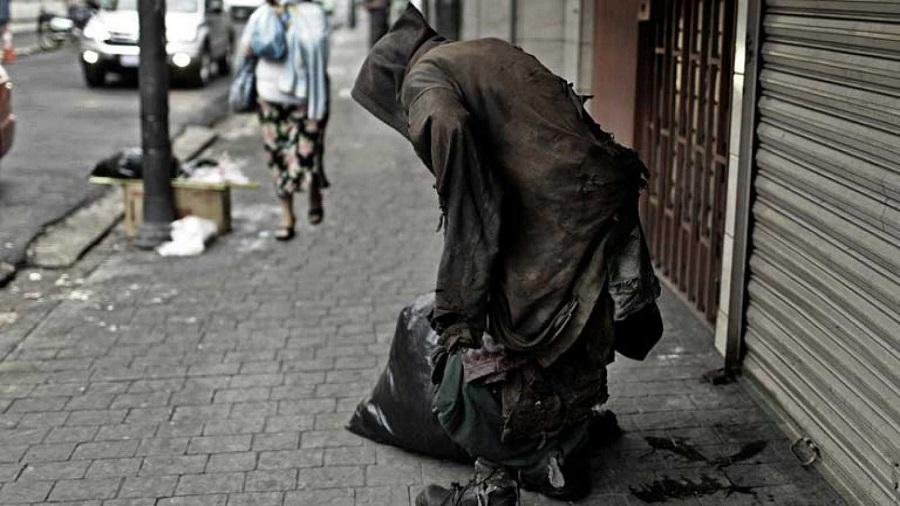 Una imagen de la pobreza en Nueva York, en un país de enormes desigualdades. RTVE
