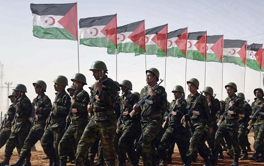 Una unidad del Ejército Saharaui.