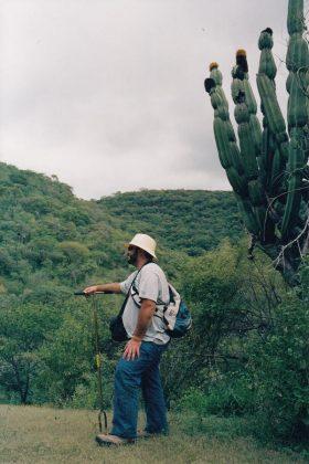 Durante una excursión a la zona del Puente del Diablo (Michoacán, México).