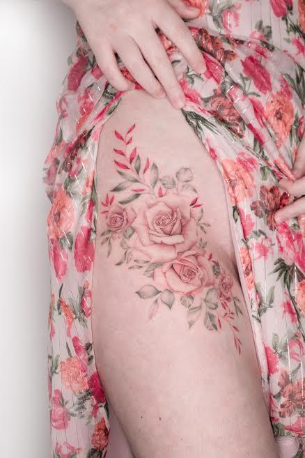 Ana es una de las mejores tatuadores del mundo. MARIE MARC