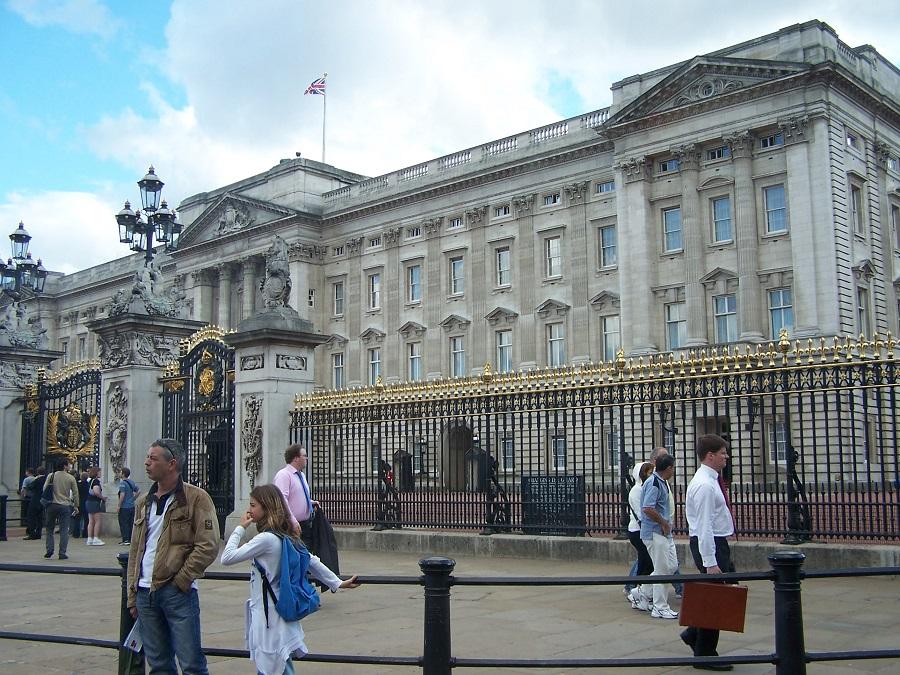 Buckingham, epicentro de la nostalgia imperial. J.M. PAGADOR