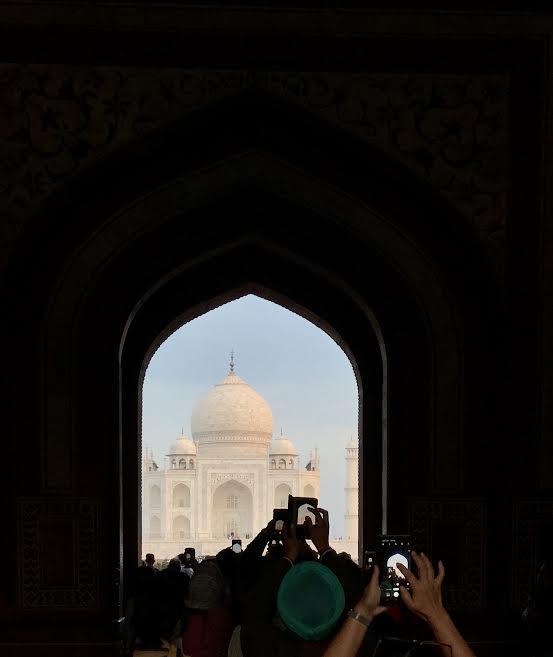 El Taj Mahal. BLAS CURADO