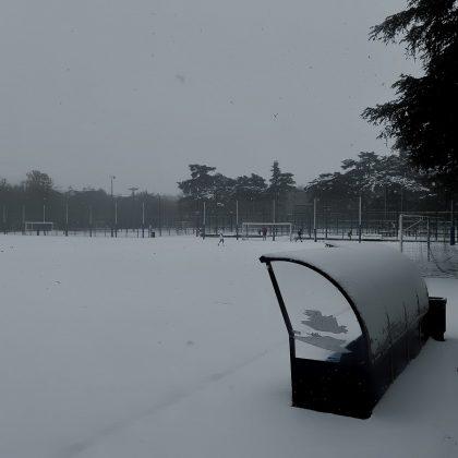 Goleada de nieve. ADRIÁN PAGADOR SARACHO