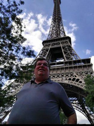Javier en París, capital de la gastronomía mundial.