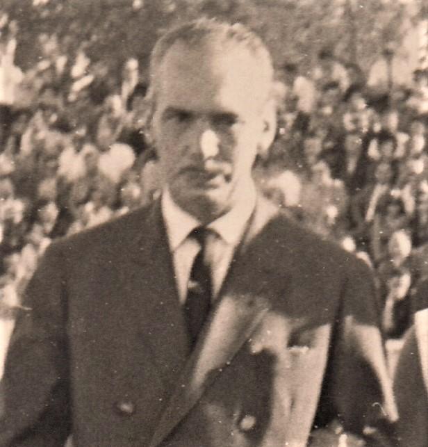 Mi padre, Fernando Pagador de la Peña, en los años 60.