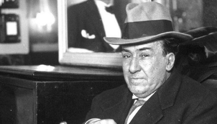 Mi tío lejano Antonio Machado, primo de mi abuela paterna, muerto en el exilio.