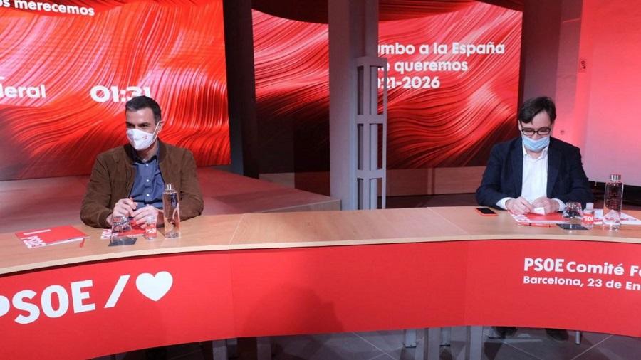 Pedro Sánchez, el autor de la apuesta, se la juega también. RTVE