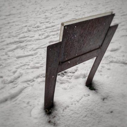 Señal de nieve. ADRIÁN PAGADOR SARACHO