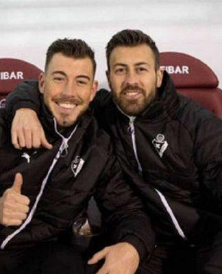 Sergi Enrich y Antonio Luna. S.D. EIBAR