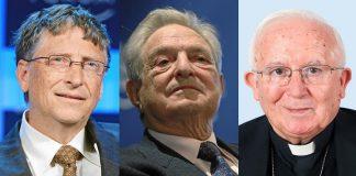 Bill Gates, George Soros y Antonio Cañizares, formas encontradas de ver las cosas.