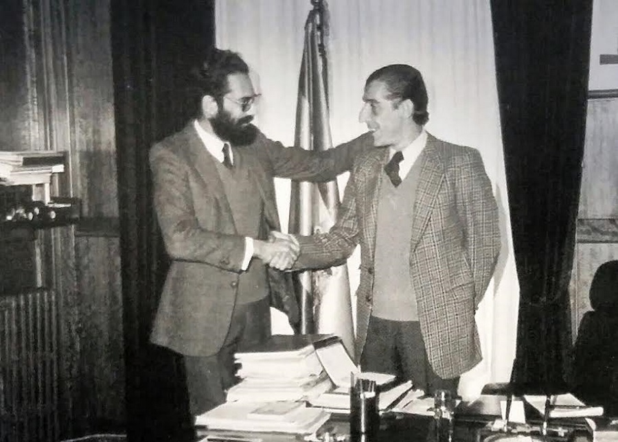 Con el gobernador civil, que quería cancelarlo, negocié el aplazamiento del Carnaval una semana. ARCHIVO J.M. PAGADOR