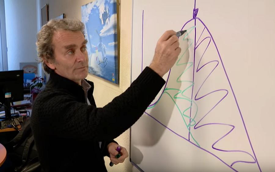 Fernando Simón, explicando la evolución de la epidemia.