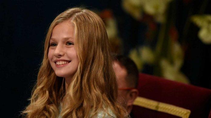 La princesa Leonor, el día que cumplió 14 años. RTVE