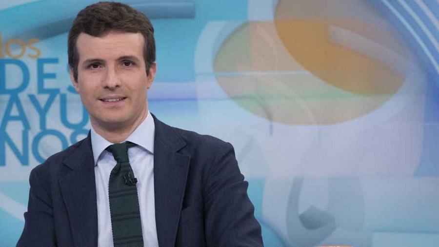 Pablo Casado, en su época de vicesecretario general del PP con Rajoy. RTVE
