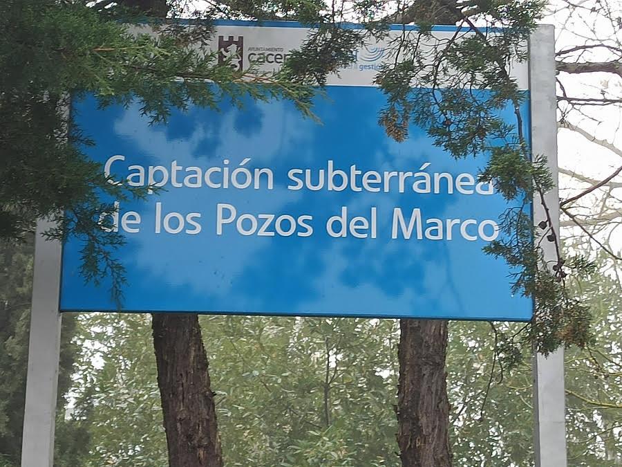 Pozos de Sondeo de la Fuente del Marco la más antigua surgencia de aguas conocida del Calerizo. ALEJO HERNÁNDEZ