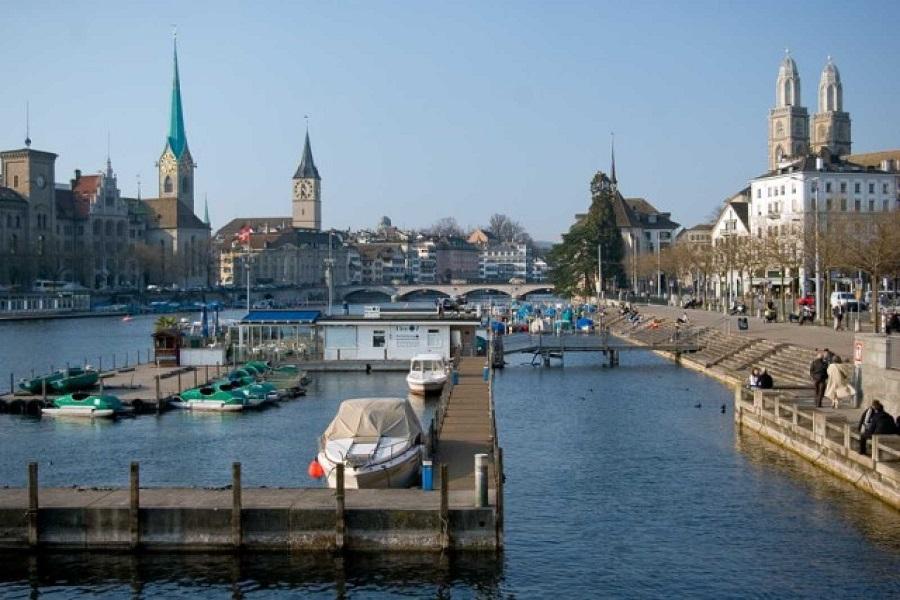 Actuaban por toda Europa. En la imagen, Zúrich, donde cometieron uno de los delitos. RTVE