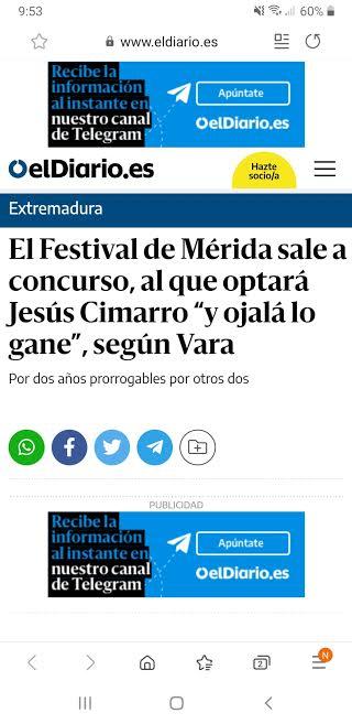 """El Diario. """"Ojalá lo gane Cimarro"""", dijo Vara en febrero de 2016."""
