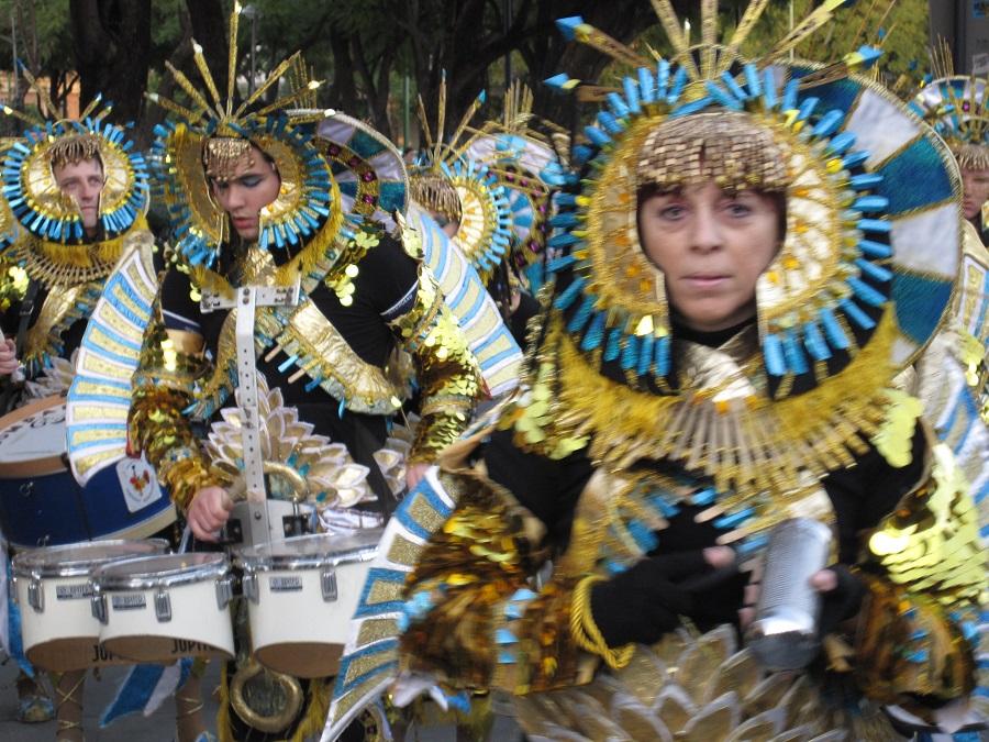 El desfile del Carnaval de Badajoz es el más nutrido y vistoso de la peninsula. PROPRONews.