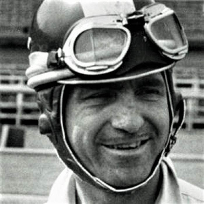El piloto, en los años 50.