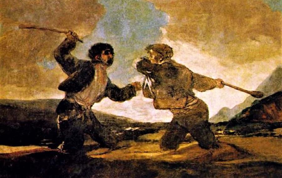 Goya anunció lo que venía.