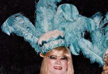 José Mª Pagador, fundador del nuevo Carnaval, disfrazado en los años 90. ARCHIVO J.M. PAGADOR